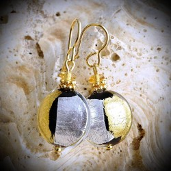 JAMES DUO earrings IN REAL GLASS OF MURANO IN VENICE