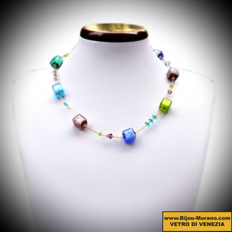 Necklace in Murano glass of Venice