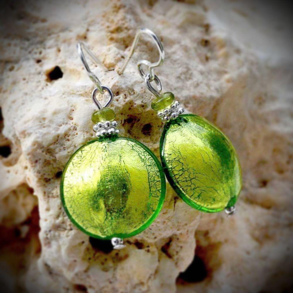 Préférence Boucles d'oreille Venitiennes d'Italie en verre de Murano PN35