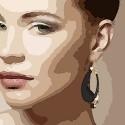 Boucles d'oreilles créoles Laura